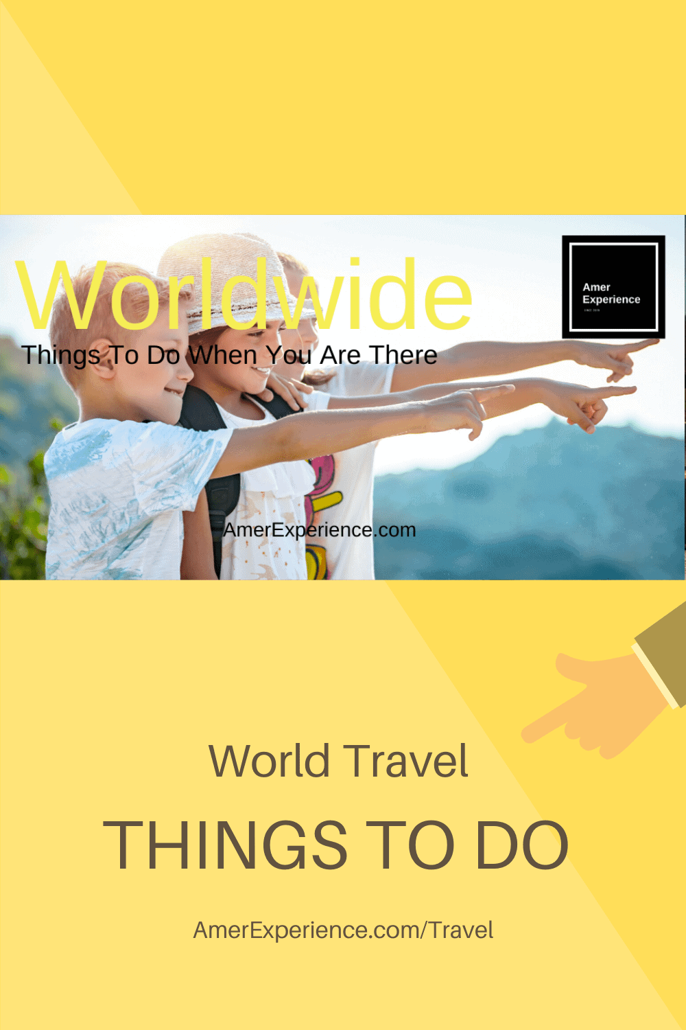 Travel things to do worldwide