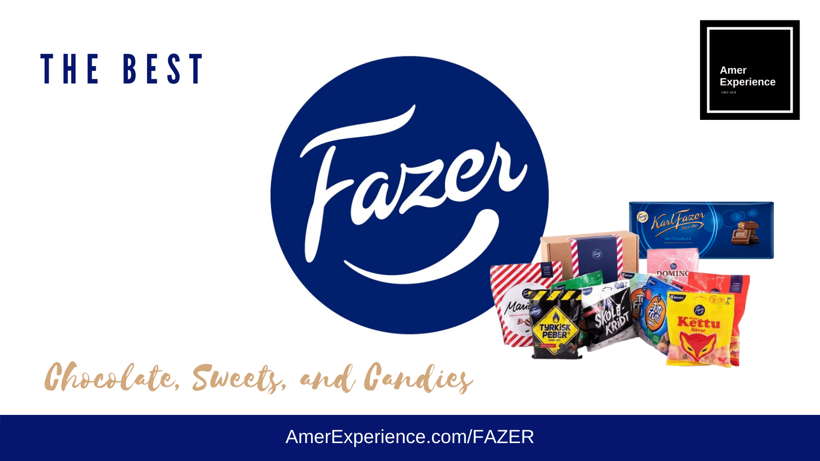 Best Fazer Chocolates Candies and Sweets