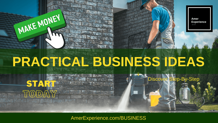 1 pressure washing business
