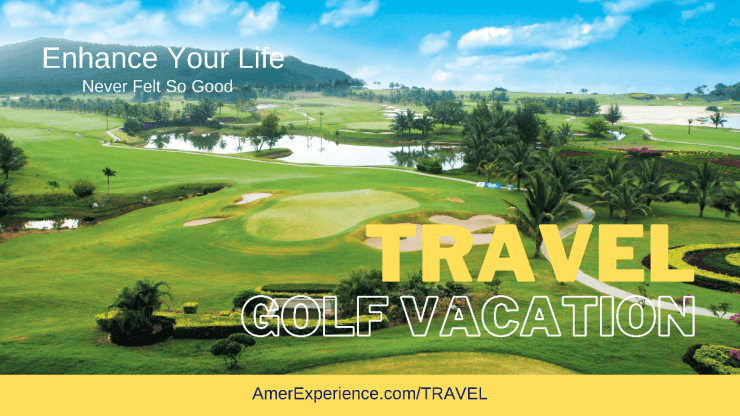 Golf travel reservation what to do in travel destination