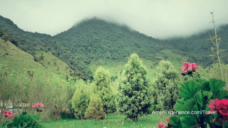 Ecuador Andean mountain village