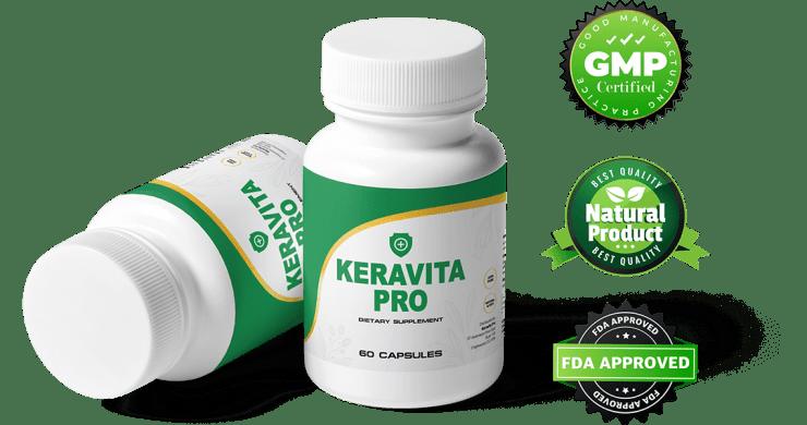 The Keravita Pro capsules are non-GMO and safe
