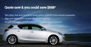 lowest auto insurance rates