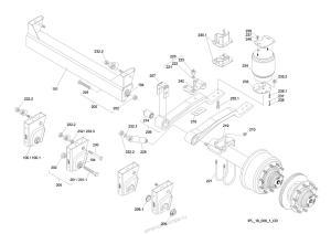 Пневмоподвеска SAF - система modular M