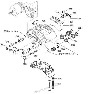дисковый тормозной механизм 0536270620