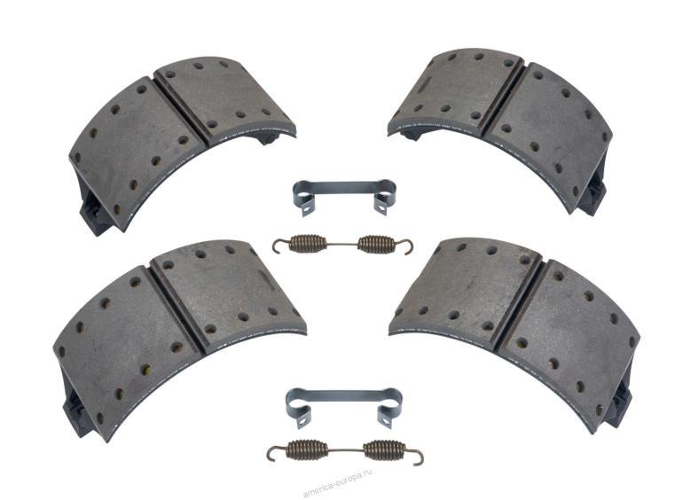 Колодки с накладками в сборе SAF SNK 420×180