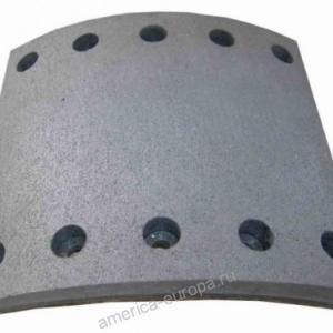 Накладки тормозные BPW SAF 420×200 19094 1 ремонт