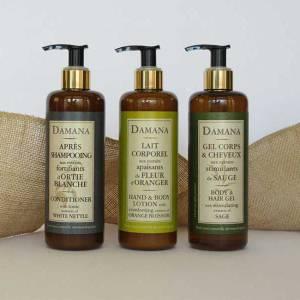 Organic Bath Line Damana Set