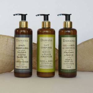 Organic Bath Line Damana Set