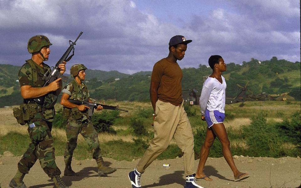 Image result for grenada invasion