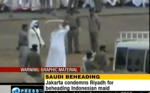 Saudi Arabia beheads Sri Lankan maid Rizana Nafeek on Jan. 9, 2013