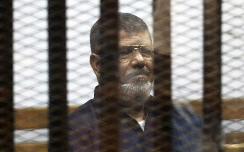Thumbnail image for Egypt court upholds Morsi's death sentence
