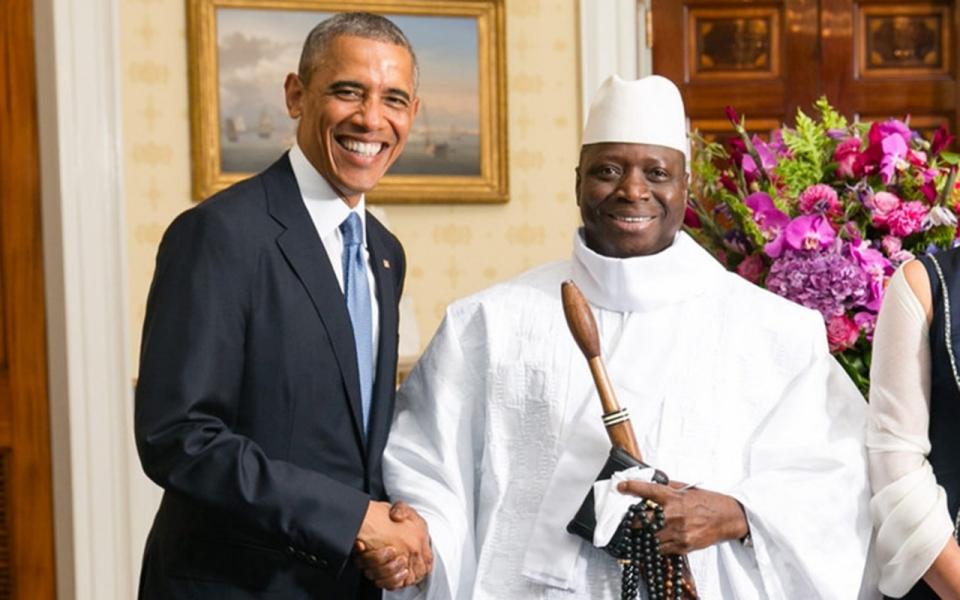 Bildresultat för yahya jammeh