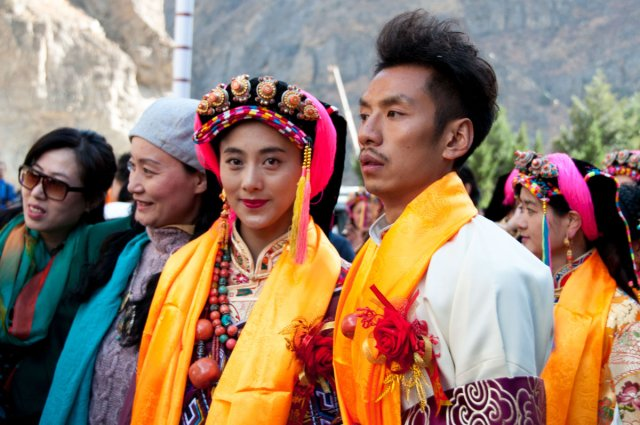 Image result for tibetan culture wedding