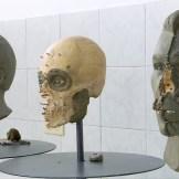 Clay facial reconstructions