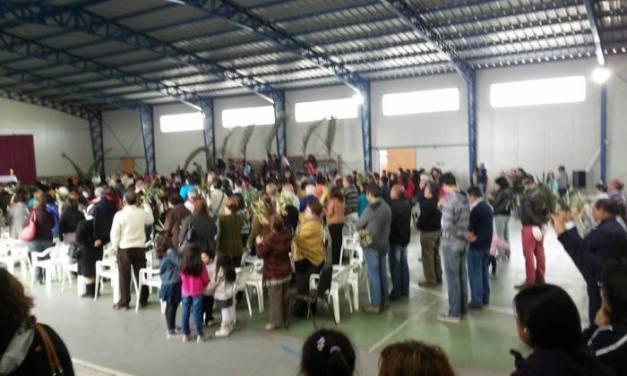COLEGIO PALAU EN DOMINGO DE RAMOS