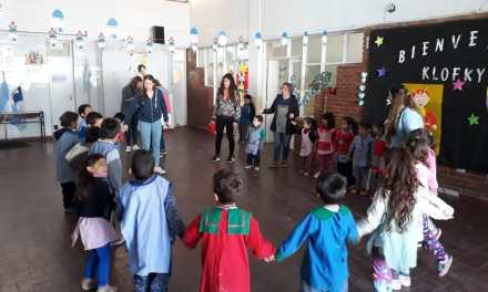 Festejos del Día del Niño en la Escuela Peñasco Aura