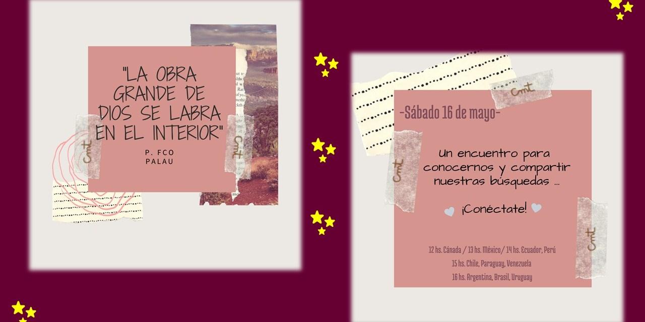 ALEGRÍA TRAS ENCUENTRO VOCACIONAL ONLINE