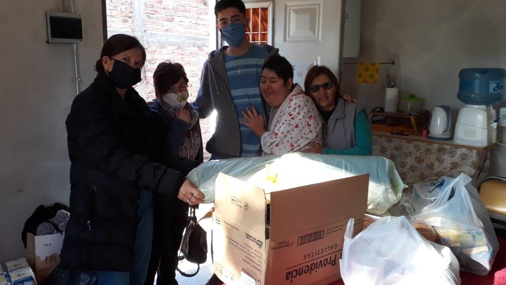S. RAFAEL: SUMANDO ENTREGAS SUMANDO FAMILIAS