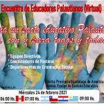 II ENCUENTRO DE EDUCADORES PALAUTIANOS (VIRTUAL)