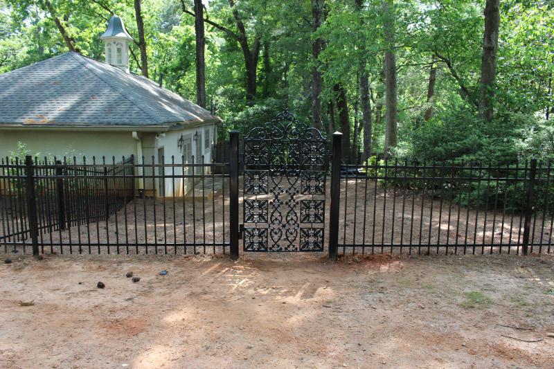 ornamental gates Suwanee, custom gates Lawrenceville