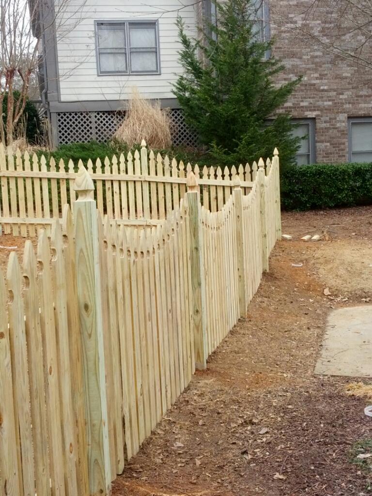 picket fence Loganville, fences Loganville
