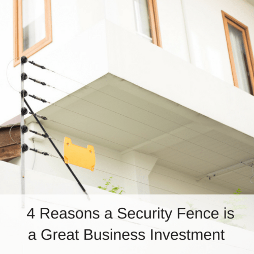 Electric Perimeter Security Fence Electric Fence Around Home | America Fence
