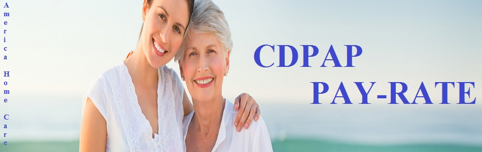 CDPAP Pay Rate Details | Family Caregiver | AmericaHomeCare
