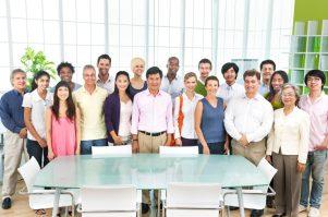 Diversity Business Collaboration Partnership Teamwork Concept