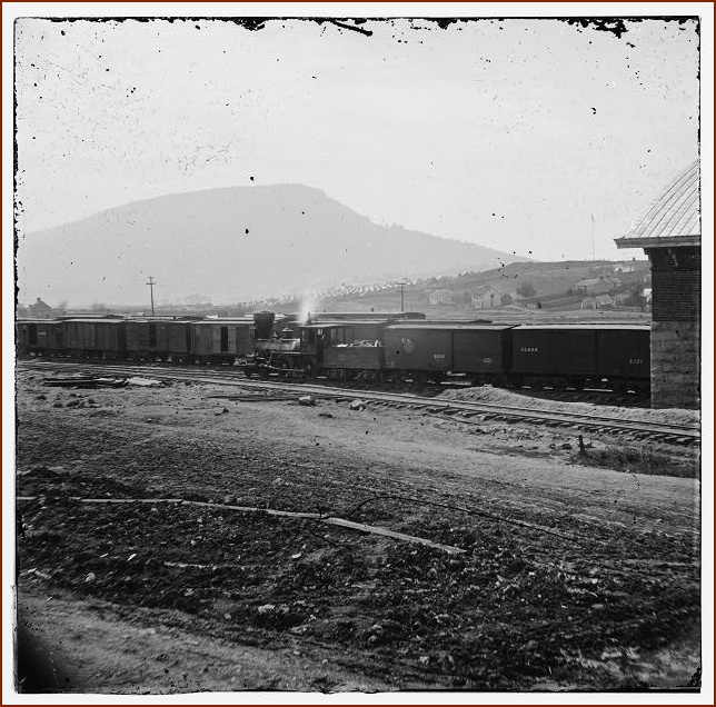 Train Depot and Lookout Mountain