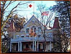 Clara Barton House -- Public Domain Photo Courtesy of Wikipedia