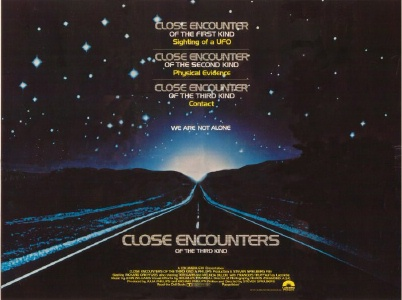Close Encounters Poster © 1977 Columbia Pictures