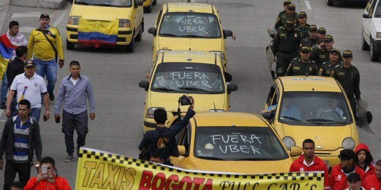 Uber demandará a Colombia por 250 millones de dólares