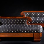 Pair of Rosewood Grecian Couches by Phyfe