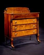 Figured Maple Bureau by William Hook