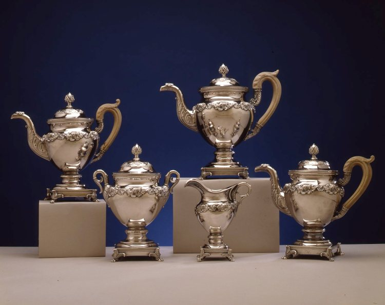 Silver Tea Service by Fletcher & Gardiner