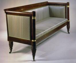 S-C-07691 Box Sofa with bronze mounts