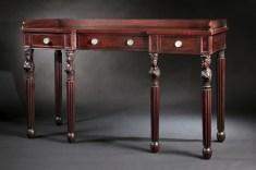 Carved Mahogany Sideboard by Edward Priestley
