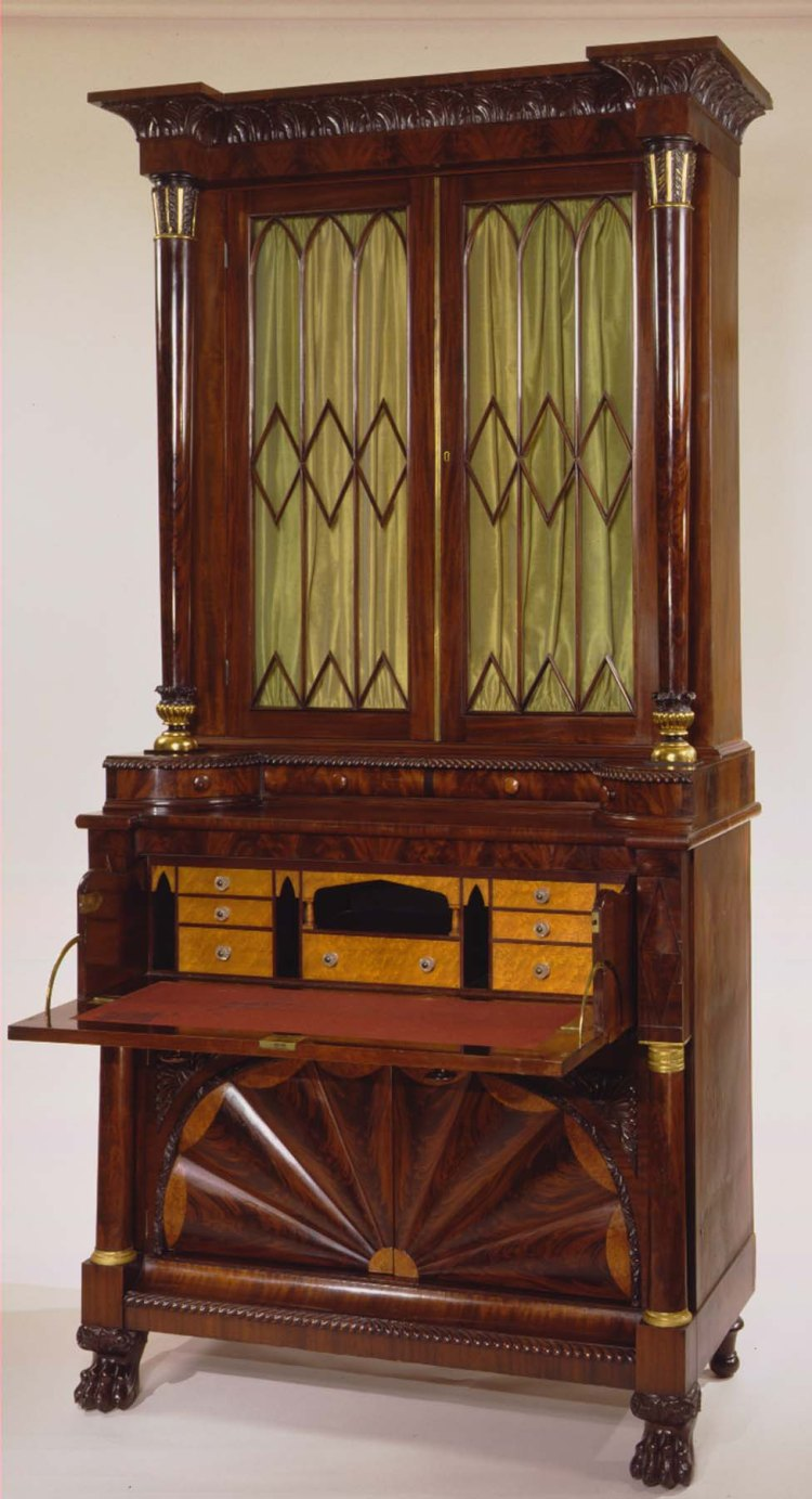 Secretary Bookcase by Anthony G. Quervelle
