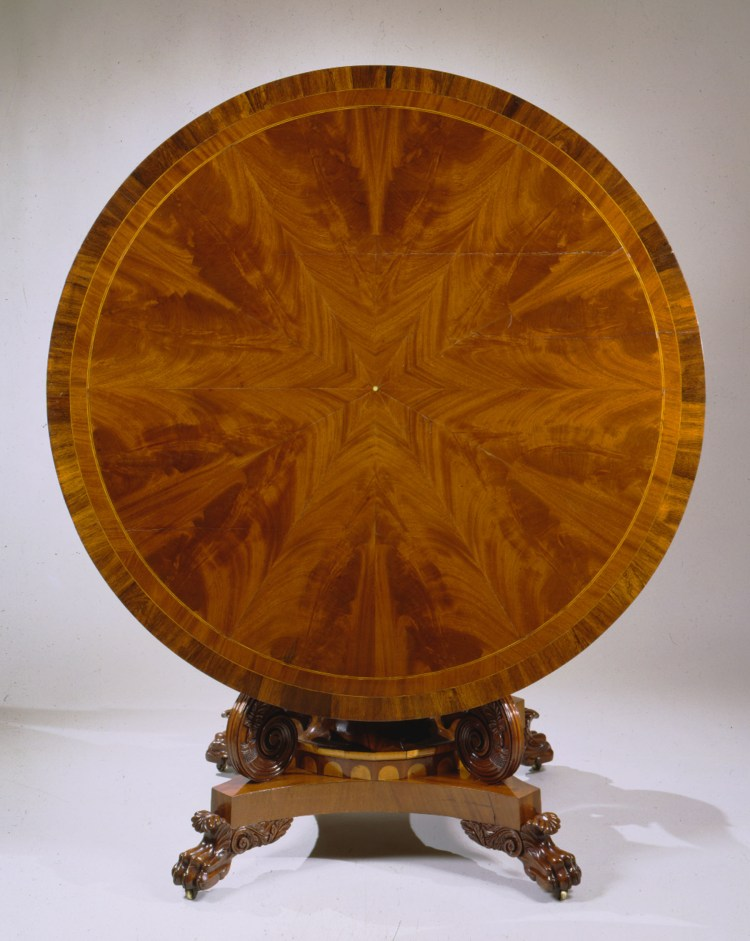 Tilt-Top Center Table by Anthony Quervelle