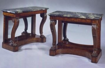 Pair of Restauration Pier Tables