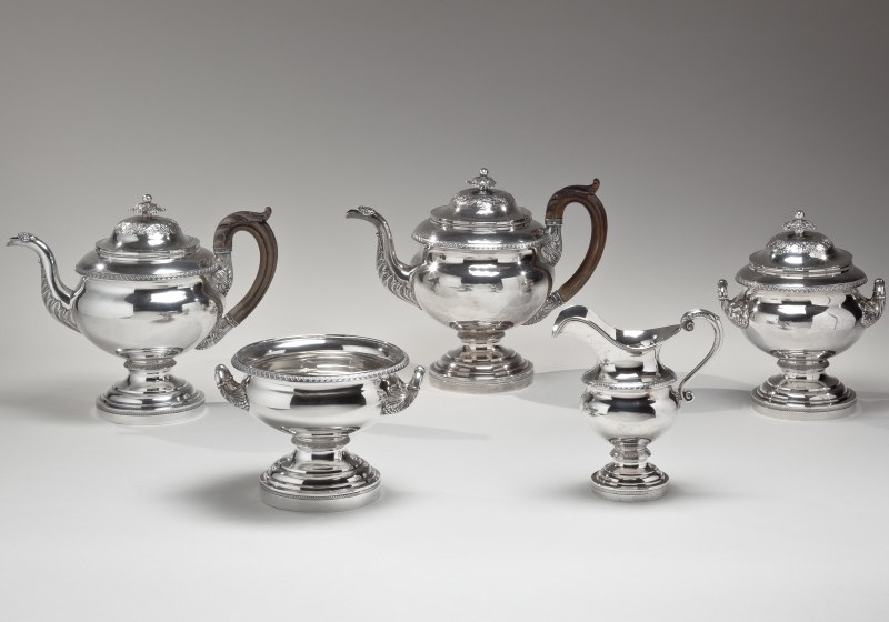 Silver Tea Service by Fletcher and Gardiner