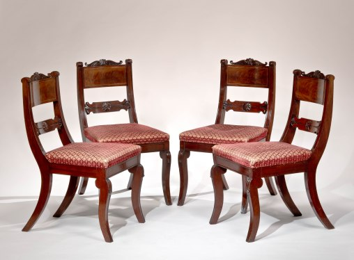 Set of Four Dining Chairs by Richard Parkin