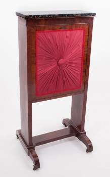 Plain-Style Ladies Writing Fire Screen