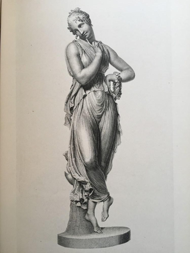 Engravings of the dancing figures were published in 1876 in The Works of Antonio Canova (Boston: James R. Osgood & Co., 1876).
