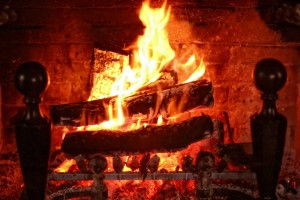 What NOT to burn in the fireplace