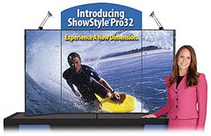 showstyle pro 32 briefcase table top display