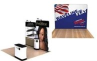 waveline tension fabric displays