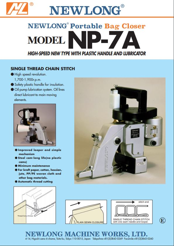 NP-7A Product Brochure