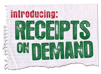 Receipts On Demand